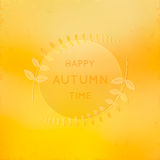Autumn background. Royalty Free Stock Photography