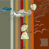 Autumn background design Stock Photography