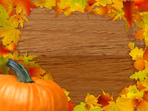 Autumn background. EPS 8 Royalty Free Stock Photo