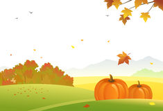 fall harvest scene isolated white background stock illustrations rh dreamstime com fall background clipart free Leaf Background Clip Art