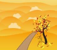 Autumn background. Illustration of autumn background - autumn illustration Stock Photo