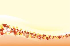 Autumn background - landscape Stock Photography