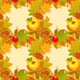 Autumn background. With leaf.  Happy thanksgiving day. eps 10 Royalty Free Stock Images