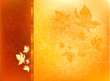 Autumn Background with Leafs royalty free illustration