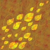 Autumn background with leaves. Autumn background with colorful leaves eps10 Stock Image