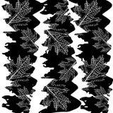Autumn background with leaves. Maple leaf vector. Illustration stock illustration