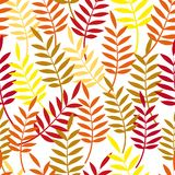 Autumn background. Leaves seamless. Royalty Free Stock Photos