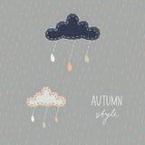 Autumn background. Stock Images