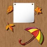 Autumn background. Thanksgiving card Stock Photos