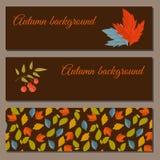 Autumn background vector illustration Royalty Free Stock Image