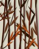 Autumn background willow. Decorative romantic background with autumn willow leaves Stock Photography