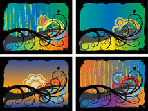 Autumn backgrounds Stock Images