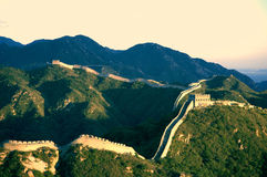 Autumn Badaling Great Wall Imagem de Stock Royalty Free