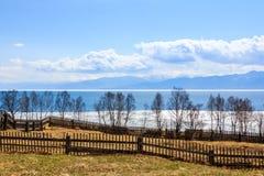 Autumn Baikal Arkivfoto