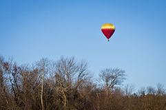 Autumn Ballooning Stock Image