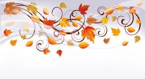 Autumn banner Stock Photo