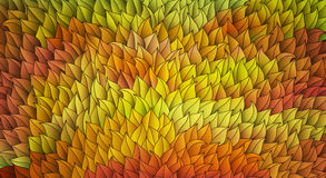 Autumn Banner. Made of colorful leaves, vector eps10 Stock Image