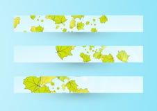 Autumn banner Stock Photography