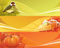 Autumn banner royalty free stock image