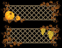 Autumn banner Stock Photo