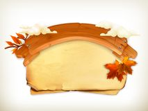 Autumn banner Royalty Free Stock Photography