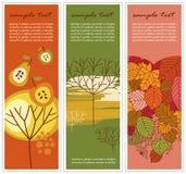 Autumn banners Royalty Free Stock Photos