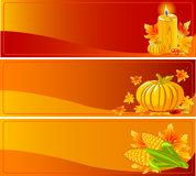 Autumn Banners Royalty Free Stock Photography