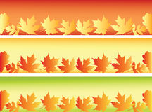 Autumn banners. Stock Photos