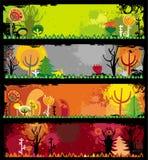 Autumn banners Stock Photo