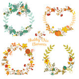 Autumn Banners and Tags. In vector for your decoration Stock Photo