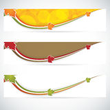 Autumn banners Royalty Free Stock Photo