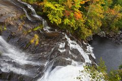 Autumn At Barberville Falls Stock Photo