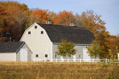 Autumn Barn Stock Image