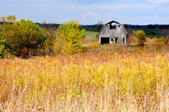Autumn barn Royalty Free Stock Images
