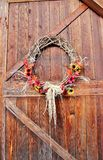 Autumn Barn Door Royalty Free Stock Images