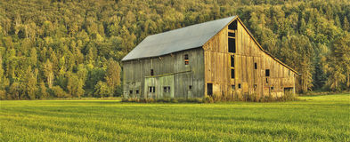 Autumn Barn Old Farm Stock Images
