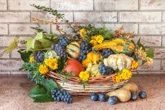 Autumn Basket Image stock