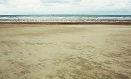 Autumn beach Royalty Free Stock Image