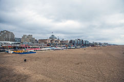 Autumn Beach in the Hague, Netherlands. Stock Photography