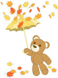 Autumn bear Royalty Free Stock Images