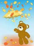 Autumn bear Stock Photography