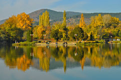 Autumn beauty. This is a sunny day in november. The picture was taken to the Stara zagora's lake Stock Image