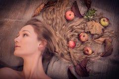 Autumn Beauty Woman Stock Image