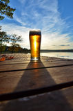 Autumn beer Royalty Free Stock Image