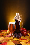 Autumn beer Royalty Free Stock Photography