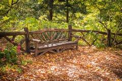 Autumn Bench Royalty Free Stock Image