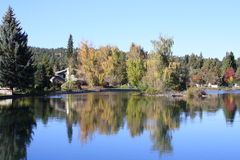 Autumn in Bend, Oregon Royalty Free Stock Image