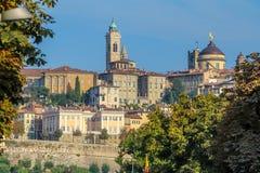 Autumn in Bergamo royalty free stock image