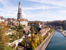 Autumn in Bern Stock Photo