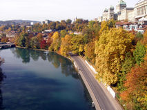 Autumn in Bern Stock Photography